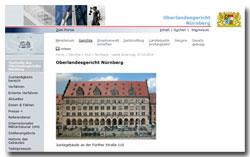OLG Nürnberg - Startseite